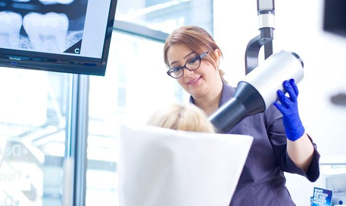 Digital X-Rays at the Dentist
