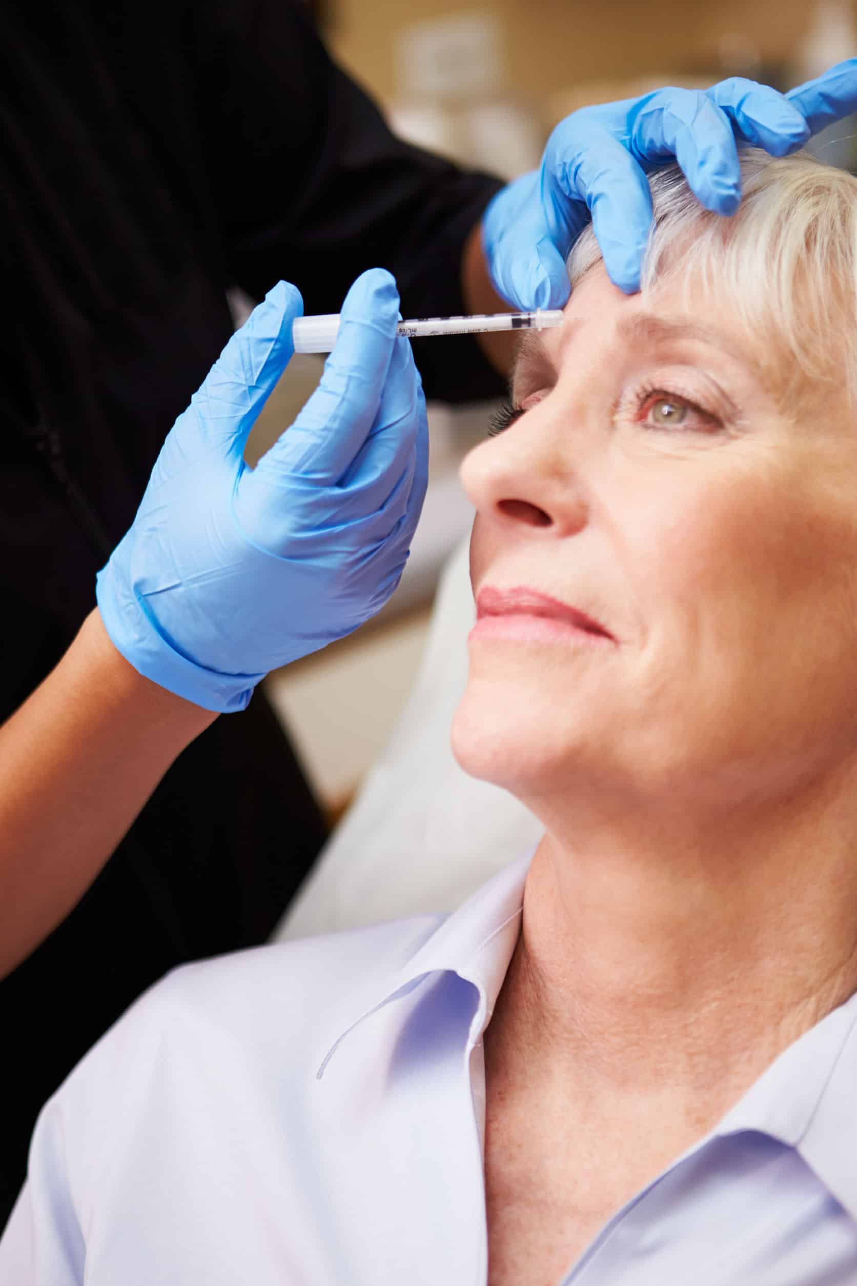 North Vancouver Botox services being administered