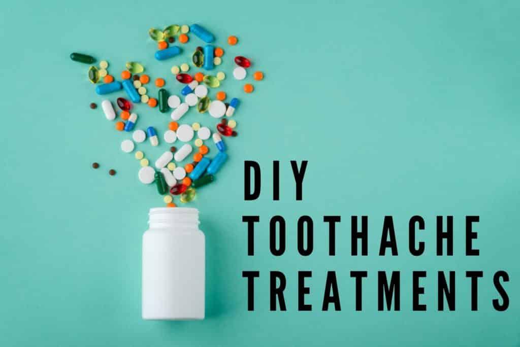 DIY toothache treatment